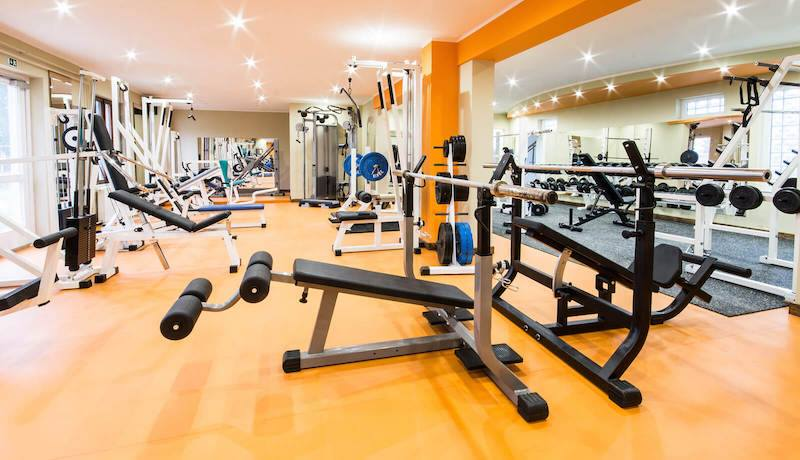 Gym at Bhartiya City Apartments