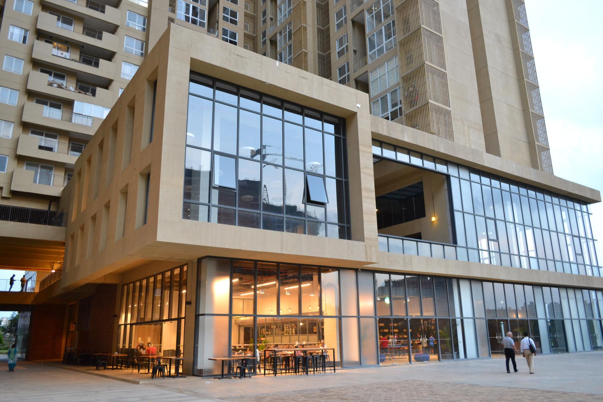 Exterior at Bhartiya City Apartments