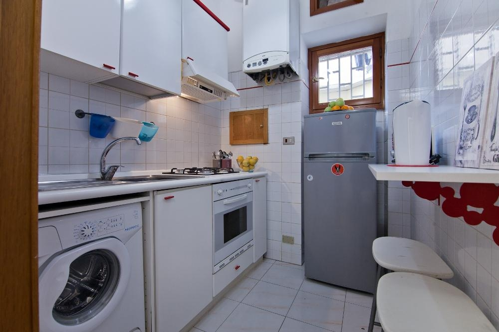 Kitchen at Flaminia Apartment, Municipio I, Rome