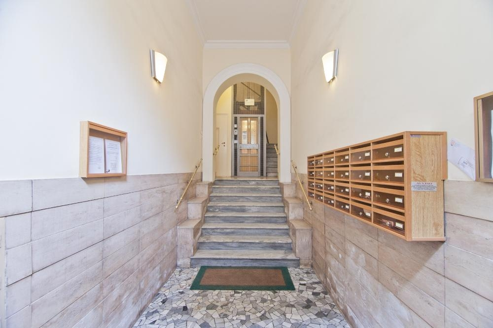 Stairs at Flaminia Apartment, Municipio I, Rome