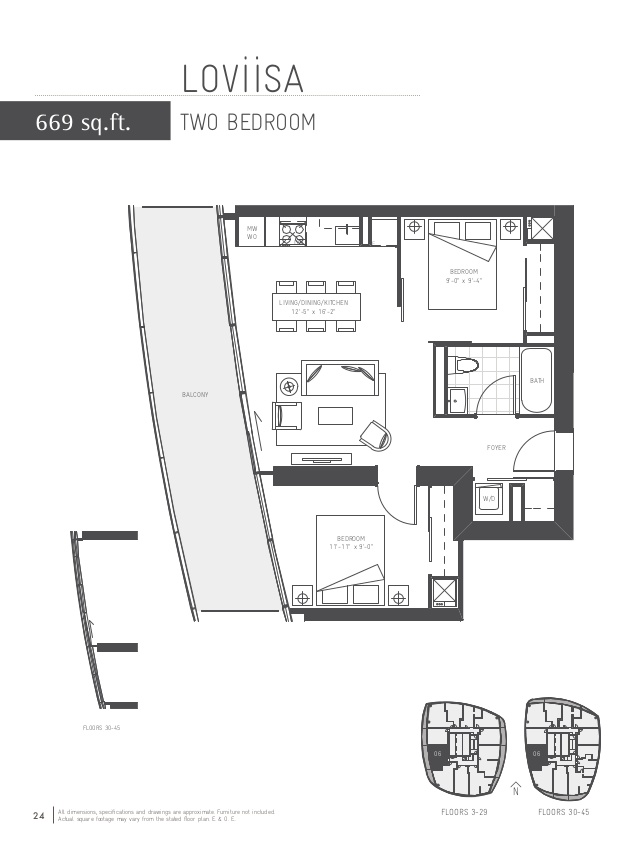 Floor plan 2 at The Ice Condos