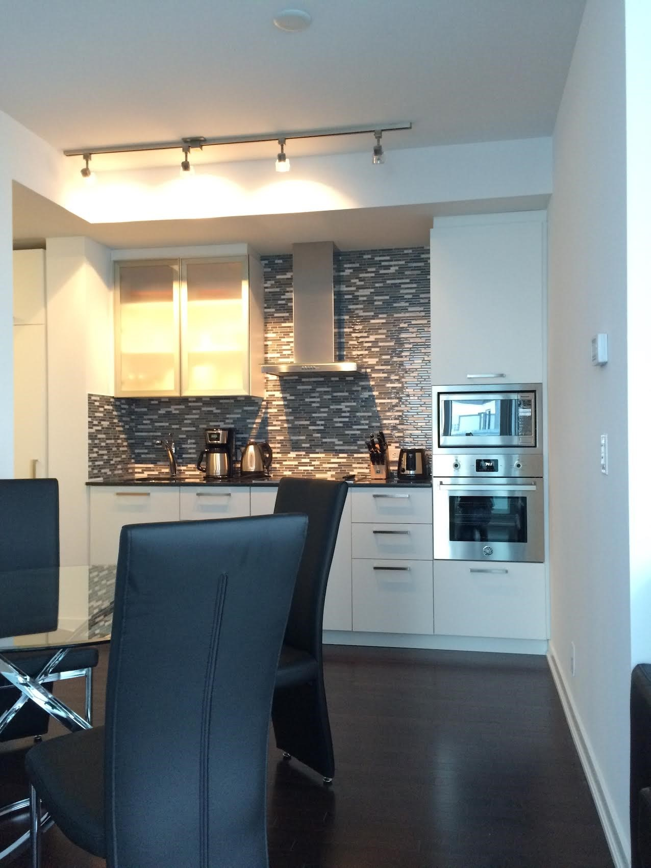 Kitchen at The Ice Condos