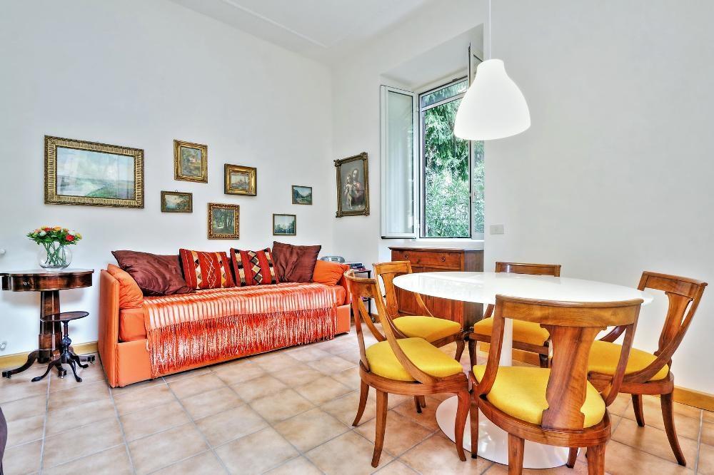 Sofa at Clodia Apartment, Municipio XV, Rome