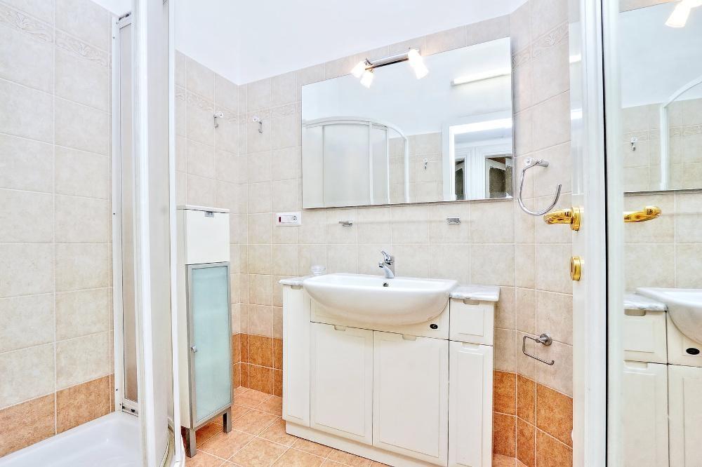 Sink space at Clodia Apartment, Municipio XV, Rome