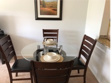 Dining area at Eagle Rock Apartment