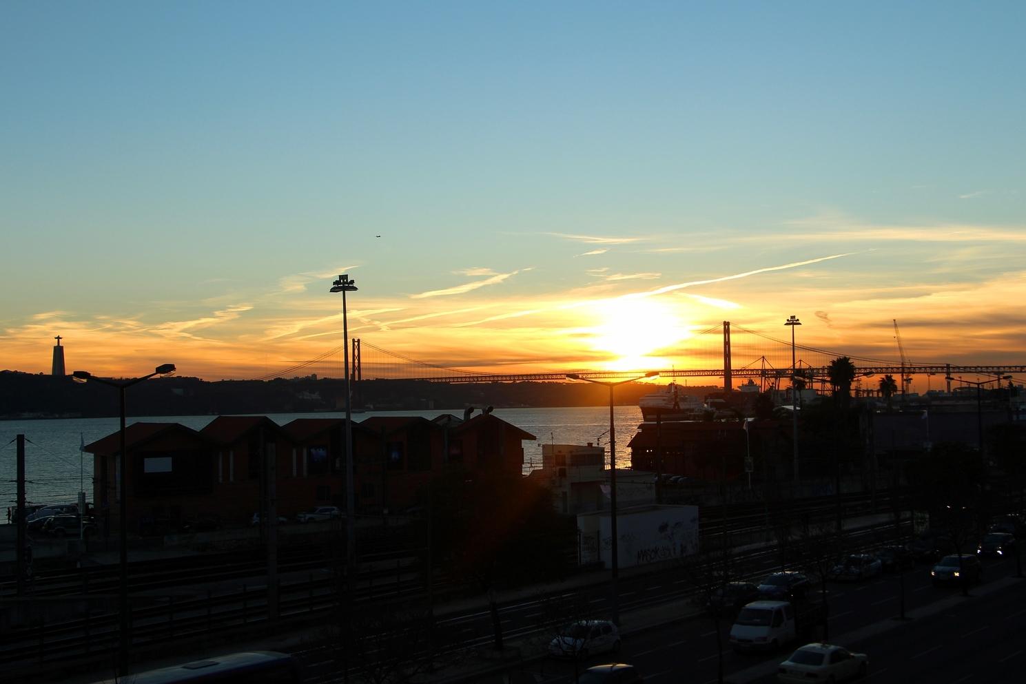 Sunset at Santos River Serviced Apartments