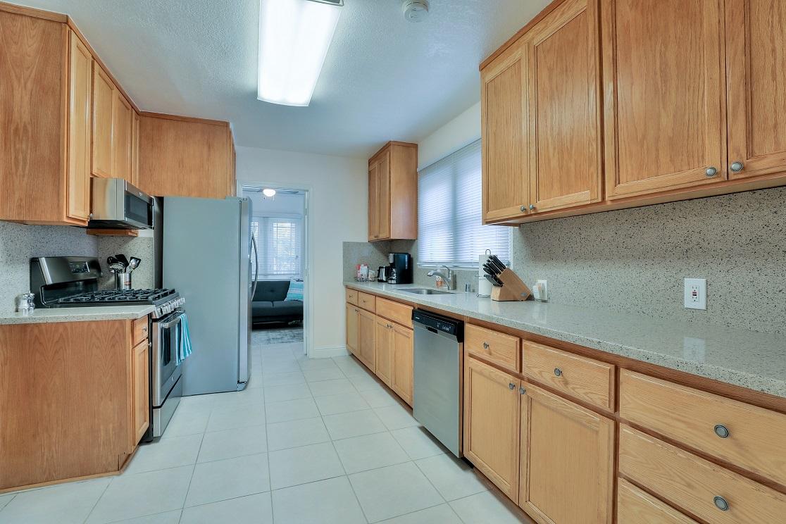 Kitchen facilities at San Jose Home