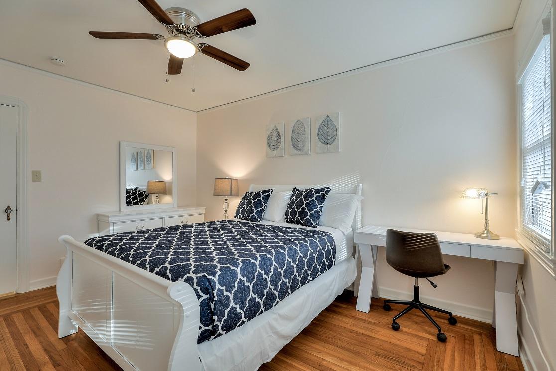 Bedroom at San Jose Home