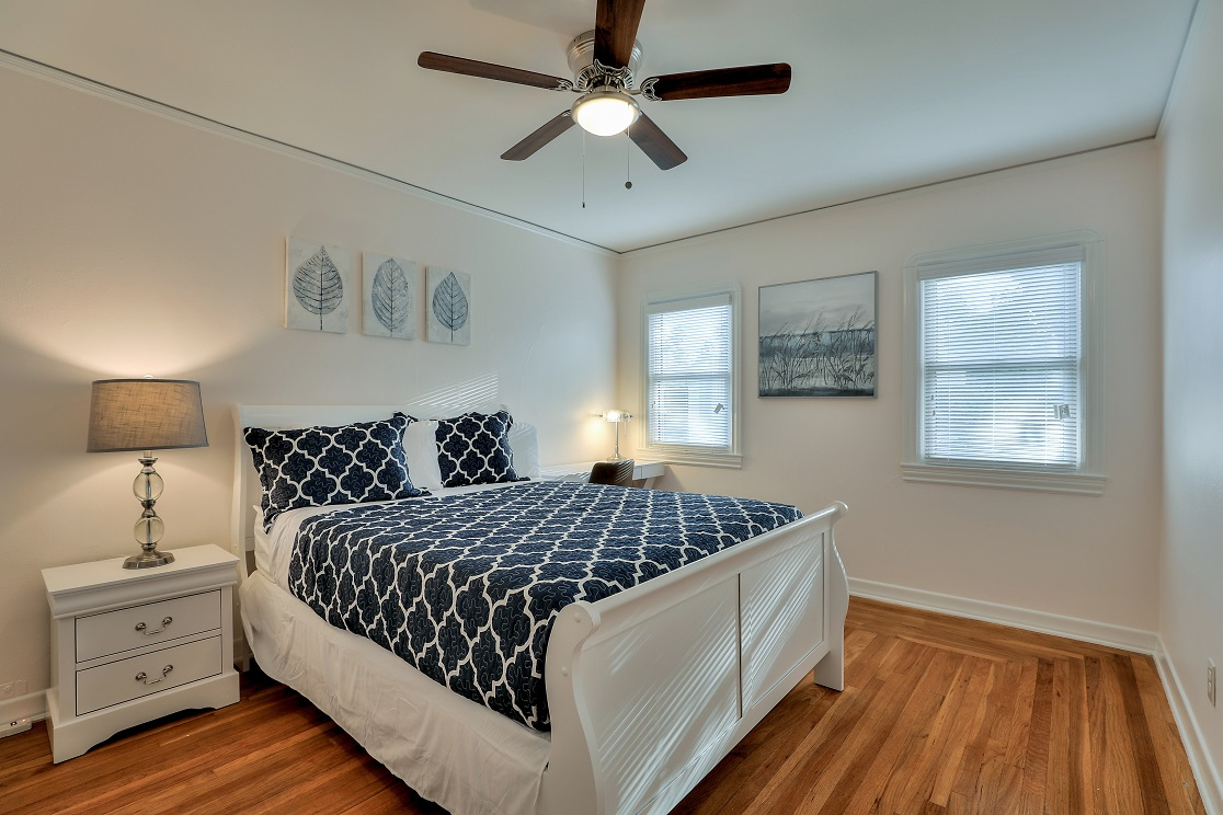 Spacious bedroom at San Jose Home