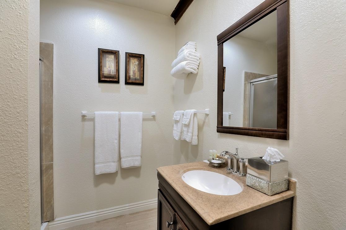 Bathroom at San Jose Home
