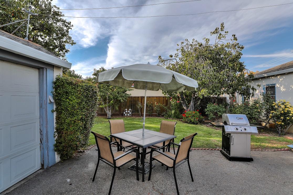 Garden at San Jose Home