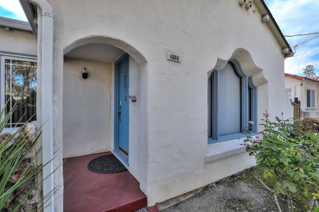 Entrance at San Jose Home