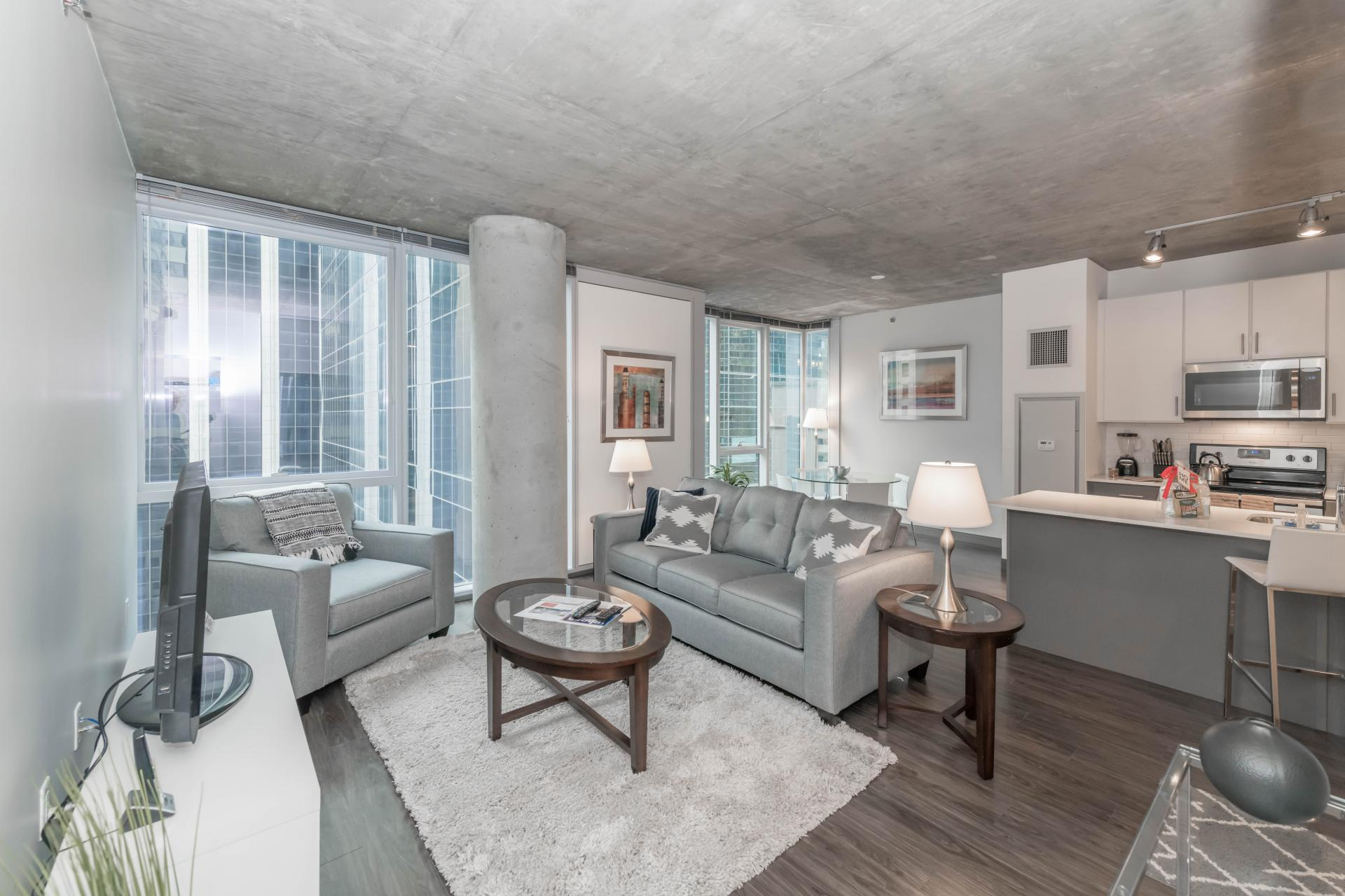 Open Floor Plan  at Linea Apartments Chicago