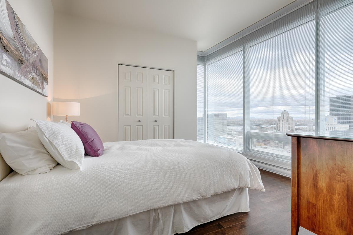 Bedroom at Le V Serviced Apartments