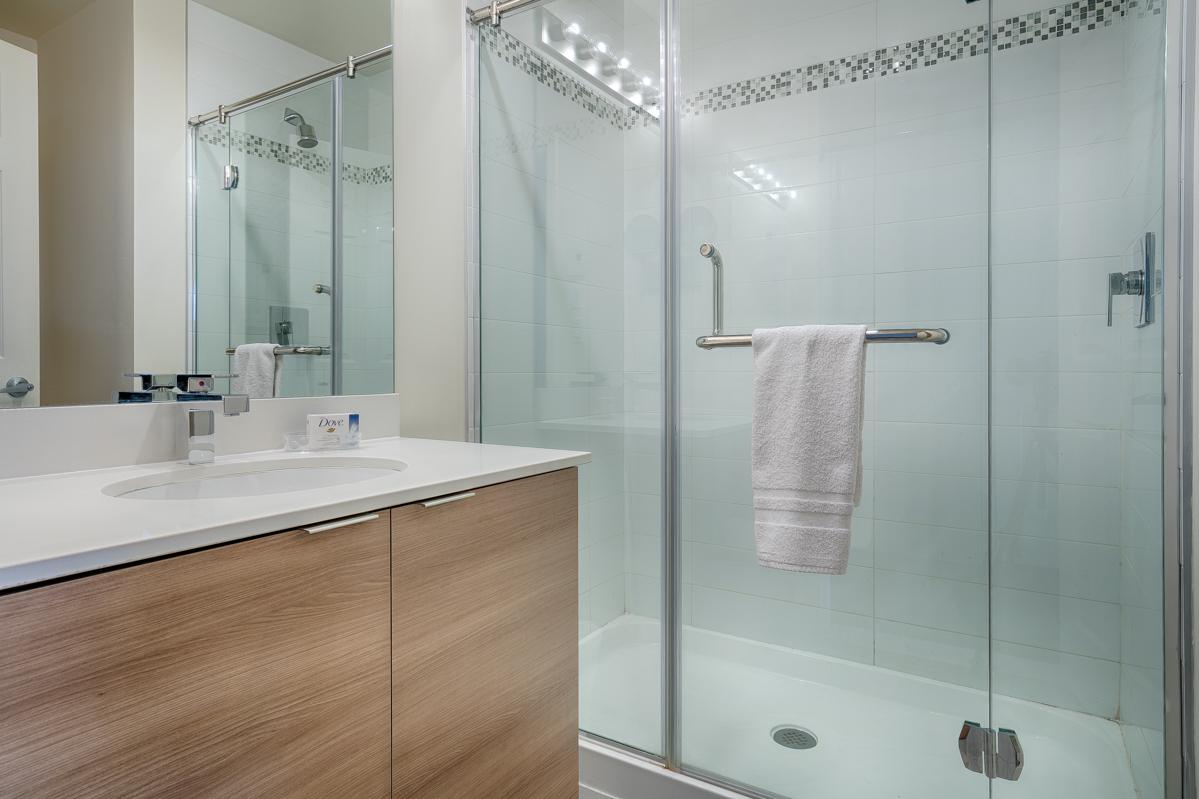 Bathroom at Le V Serviced Apartments