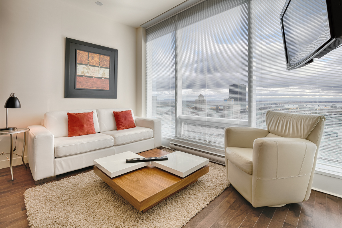 Lounge at Le V Serviced Apartments