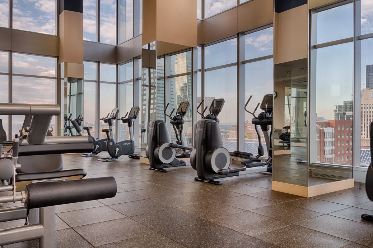 Gym at Le V Serviced Apartments