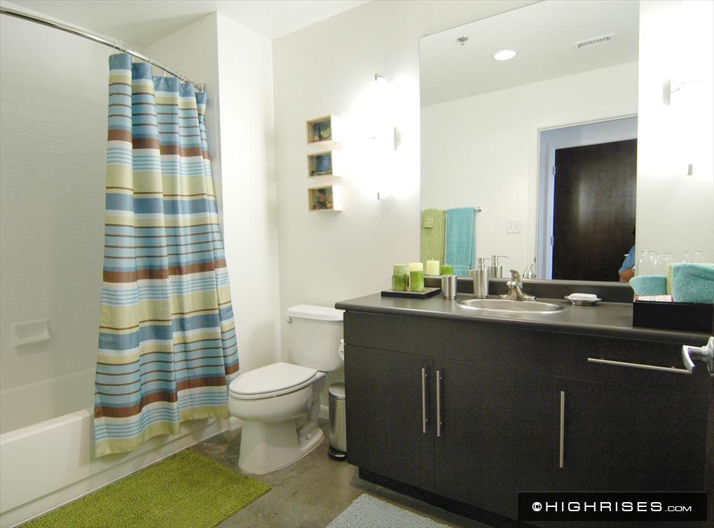 Bathroom at AMLI on 2nd Apartments, Centre, Austin