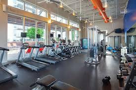 Gym at AMLI on 2nd Apartments, Centre, Austin
