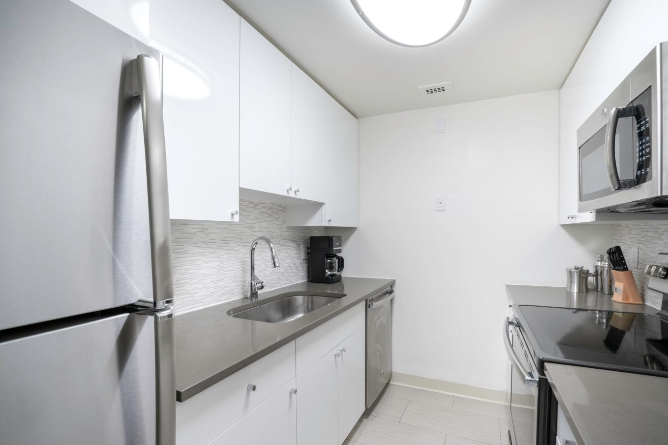 Kitchen at Avalon Prudential Apartments