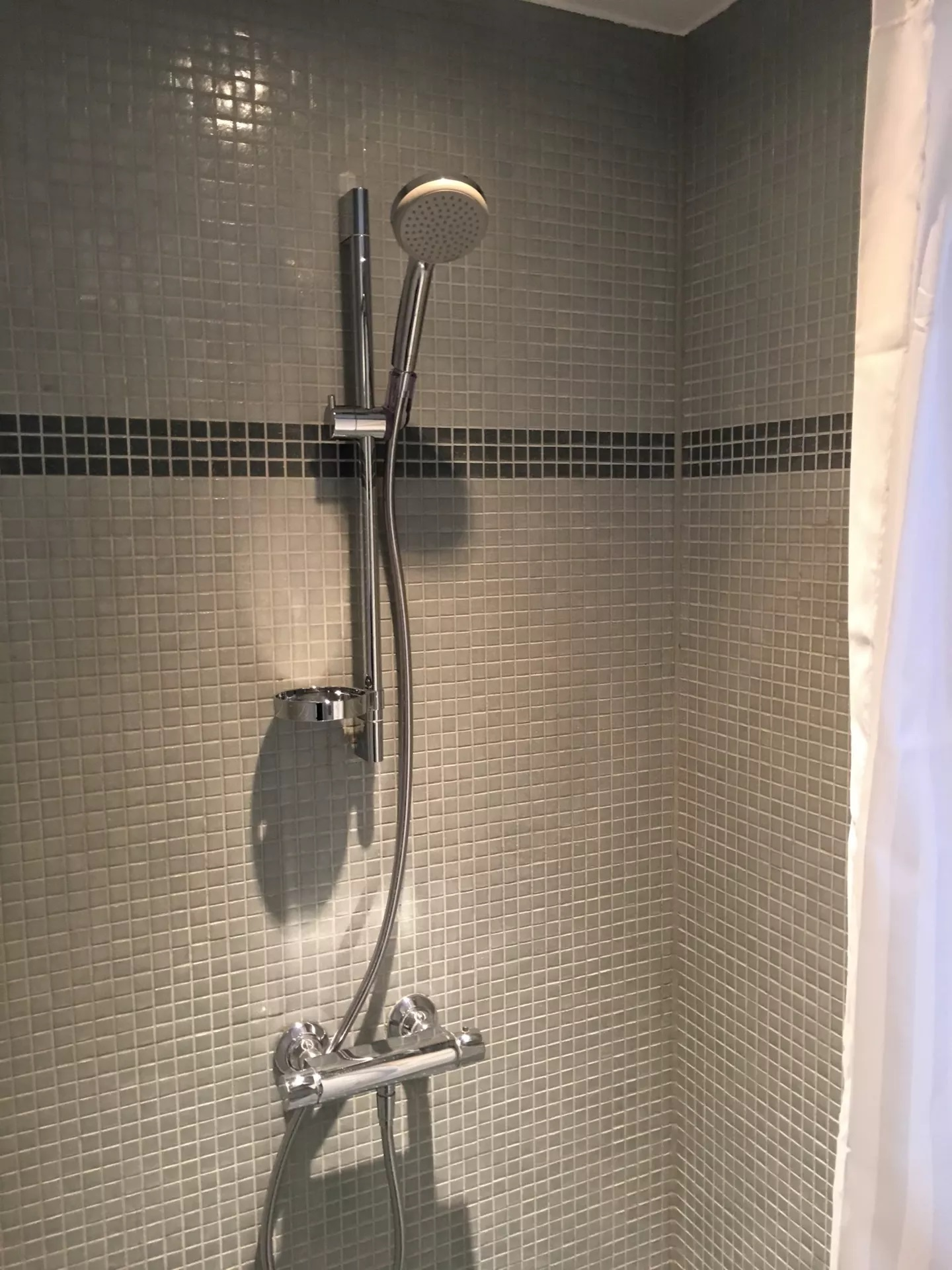 Bathroom at Teglholm Apartment, Sydhavnen, Copenhagen