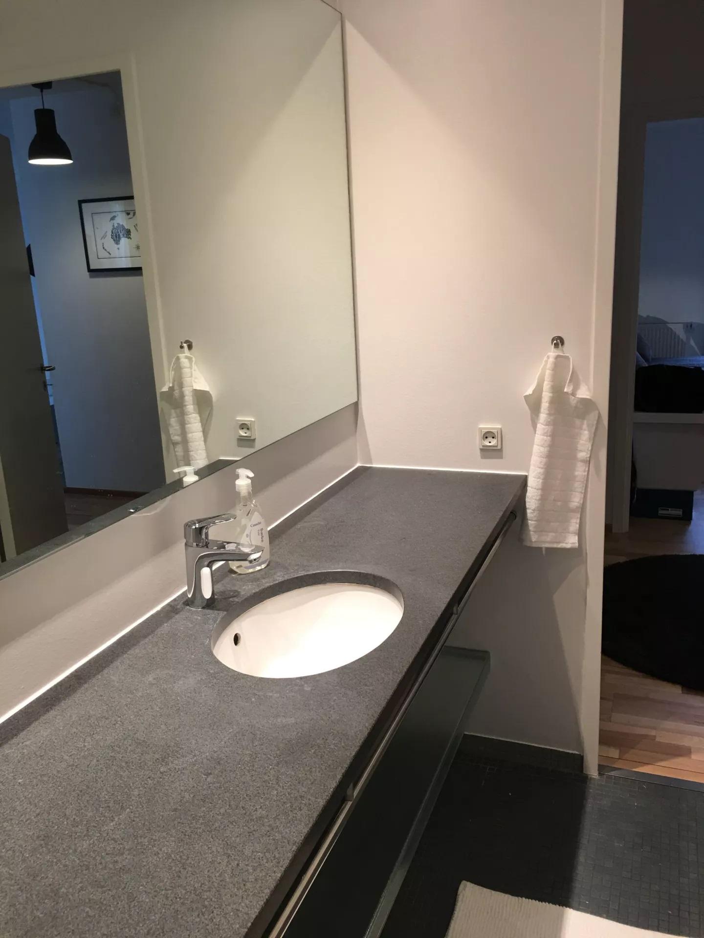 Sink at Teglholm Apartment, Sydhavnen, Copenhagen
