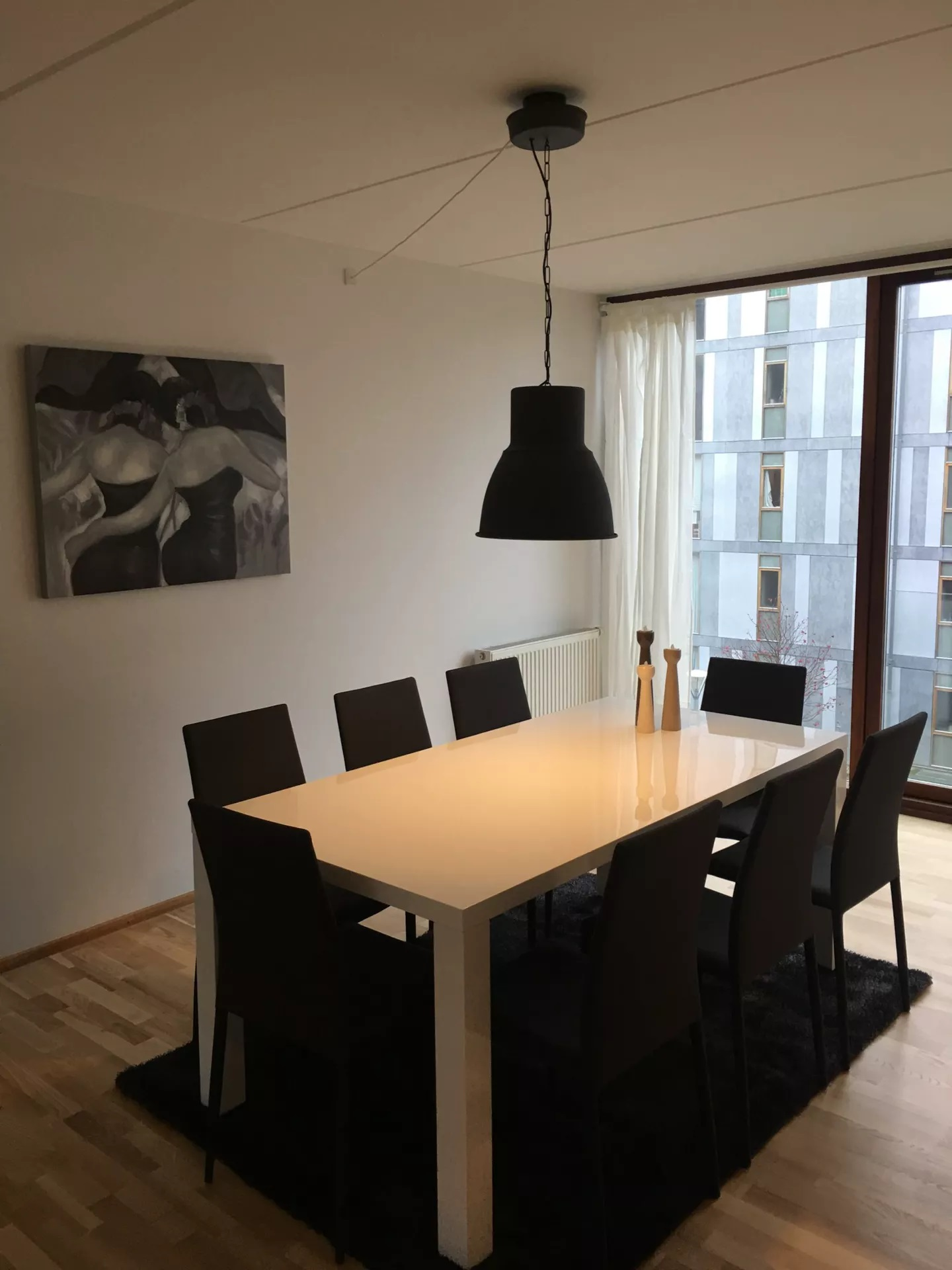 Dining area at Teglholm Apartment, Sydhavnen, Copenhagen