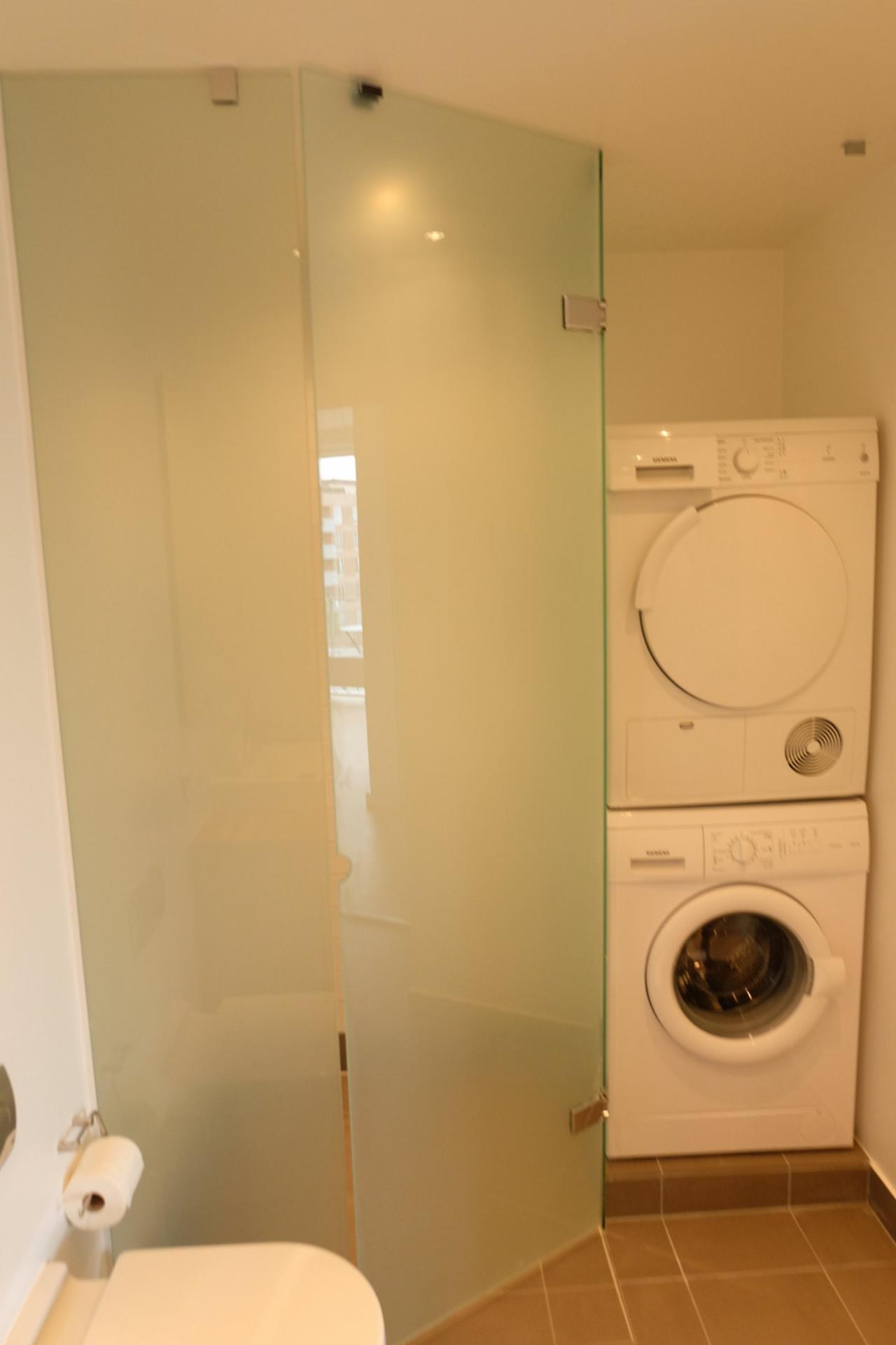 Bathroom at Sluseholmen Apartment, Sydhavnen, Copenhagen
