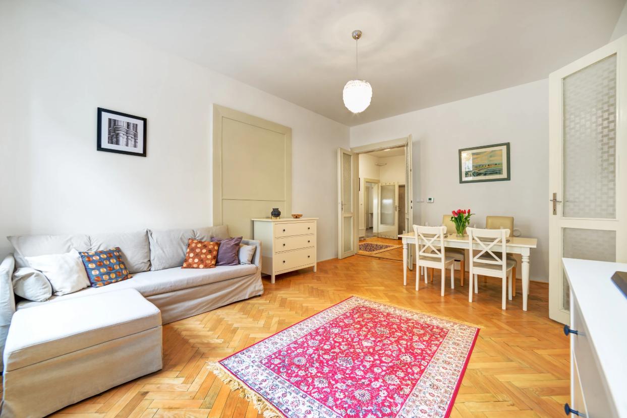Living room at Vachova Apartment