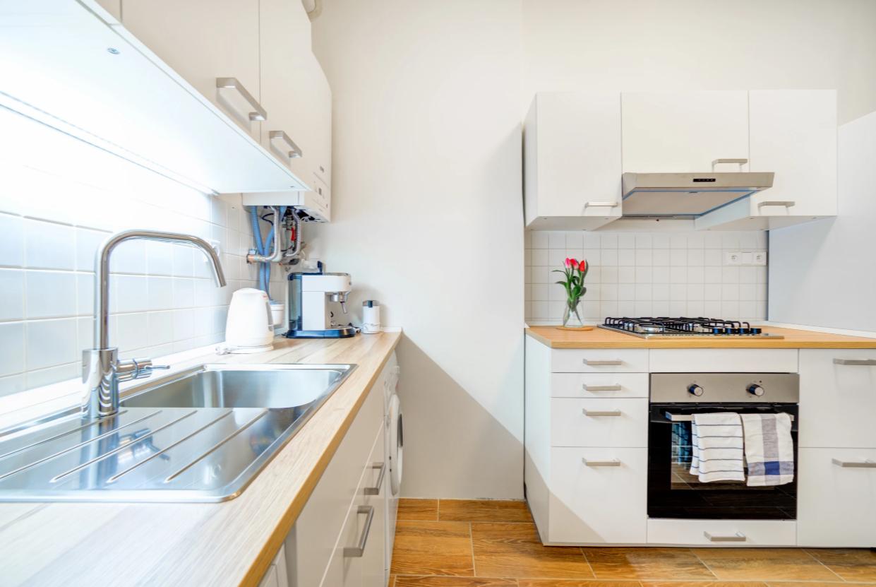 Kitchen at Vachova Apartment