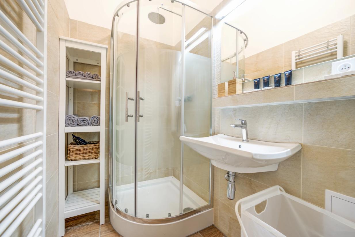 Bathroom at Vachova Apartment