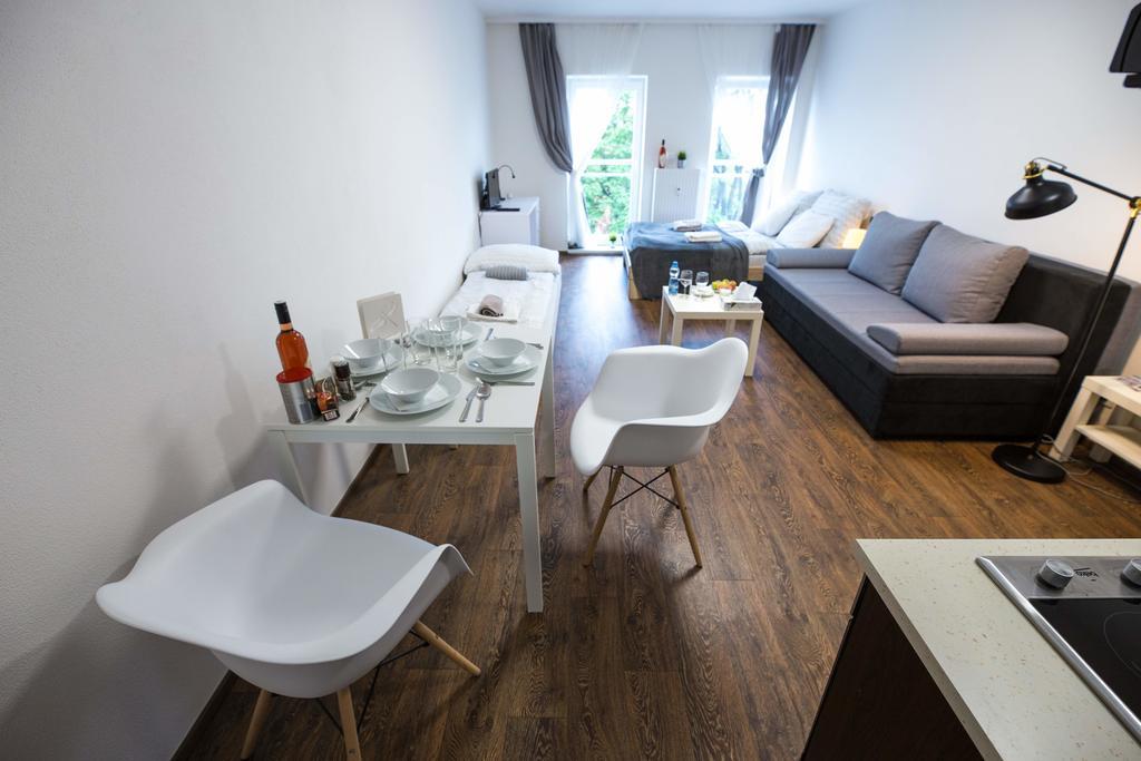 Living room at Bratislav Apartments