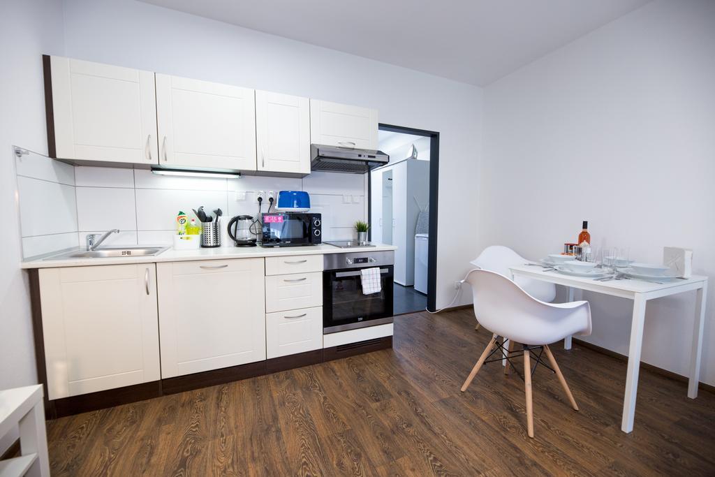 Kitchen at Bratislav Apartments