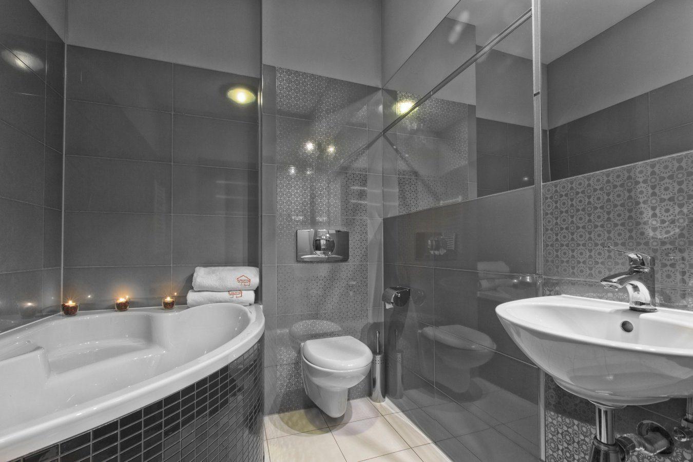 Bathroom at Zeligowskiego Apartments