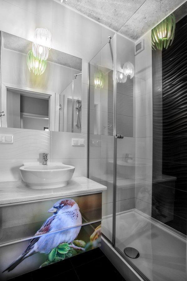 Shower at Zeligowskiego Apartments