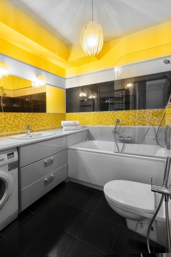 Bath at Zeligowskiego Apartments