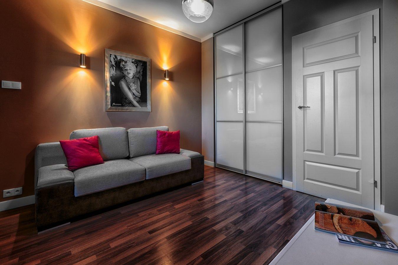 Sofa at Zeligowskiego Apartments