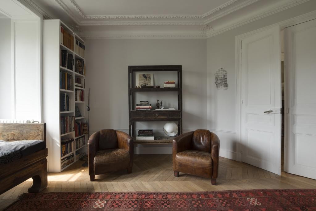 Chairs at Pyrénées Apartment, 19th Arr, Paris