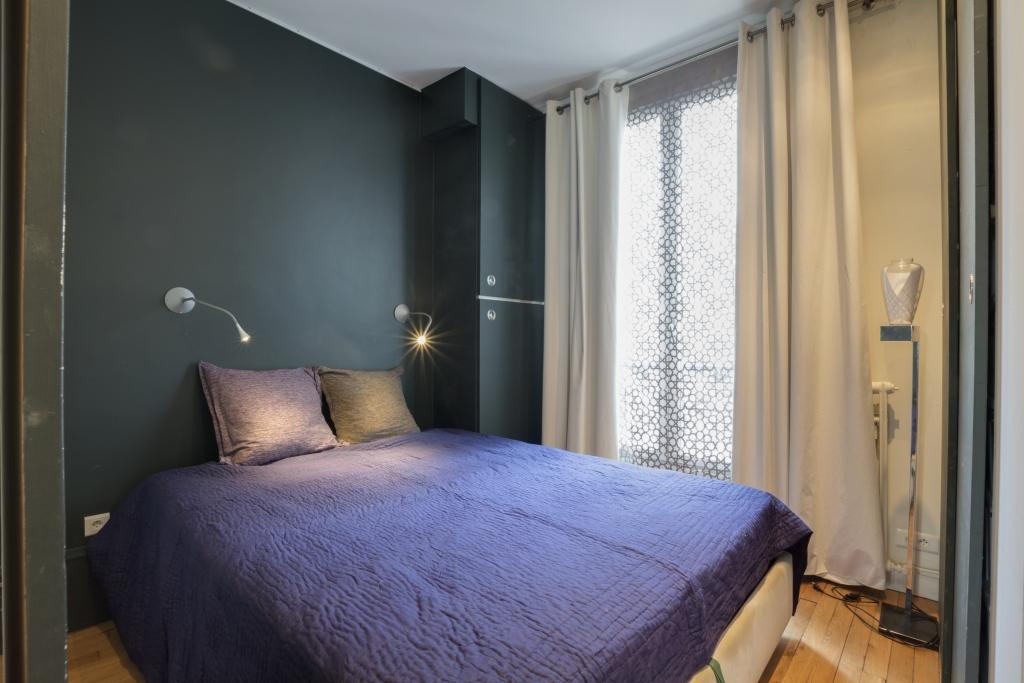 Bed at Pyrénées Apartment, 19th Arr, Paris