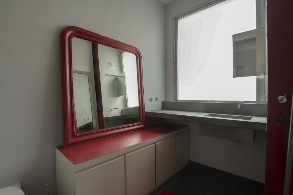 Mirror at Pyrénées Apartment, 19th Arr, Paris