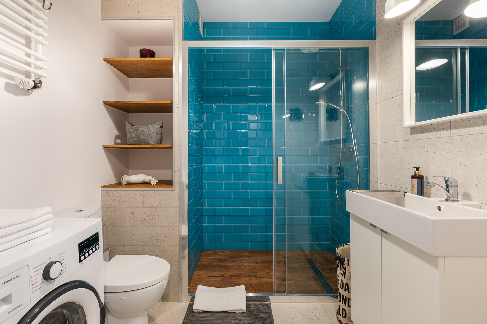 Shower at Kolska Apartments
