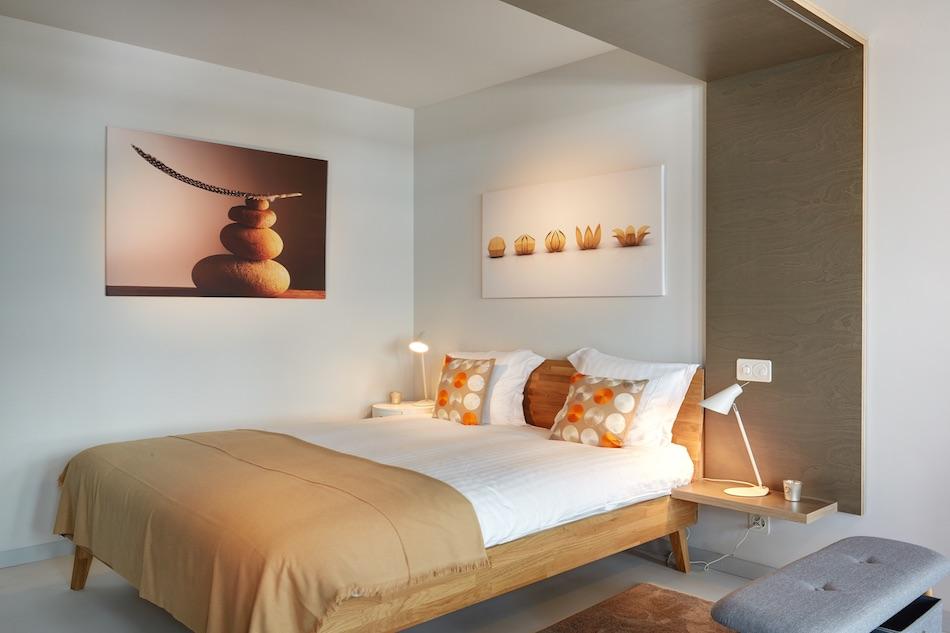 Bedroom at Morache Apartments