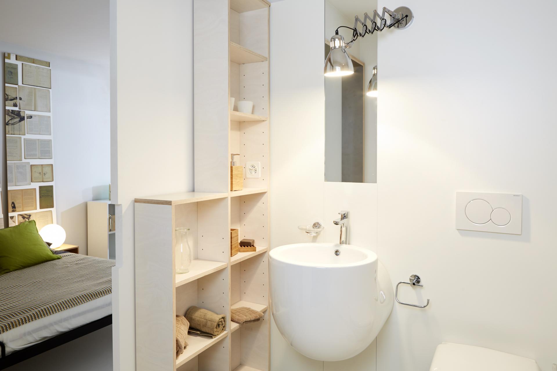 Bathroom at Morache Apartments