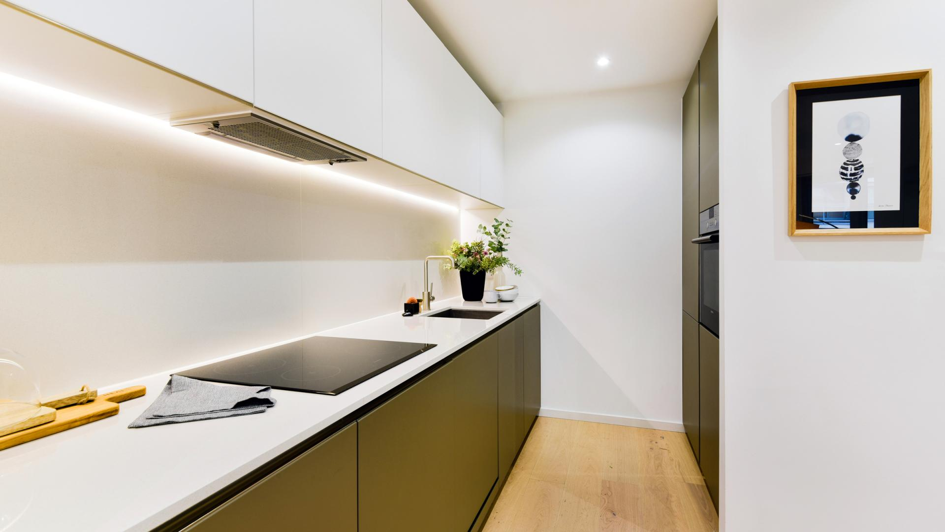 Kitchen at Clapham South 1 Apartment