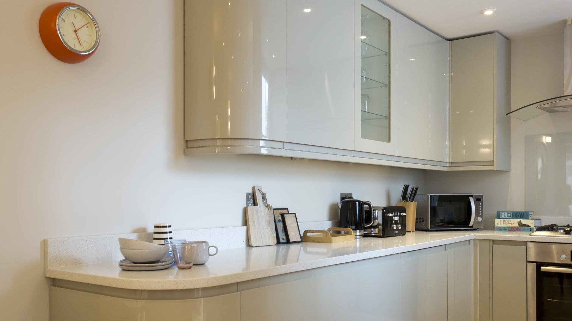 Kitchen facilities at Byrne Garden 2 Apartment