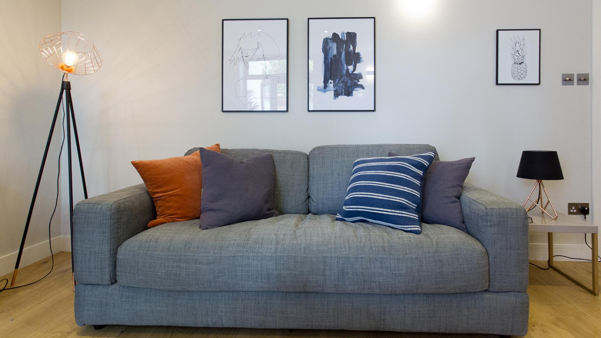 Sofa at Byrne Garden 2 Apartment
