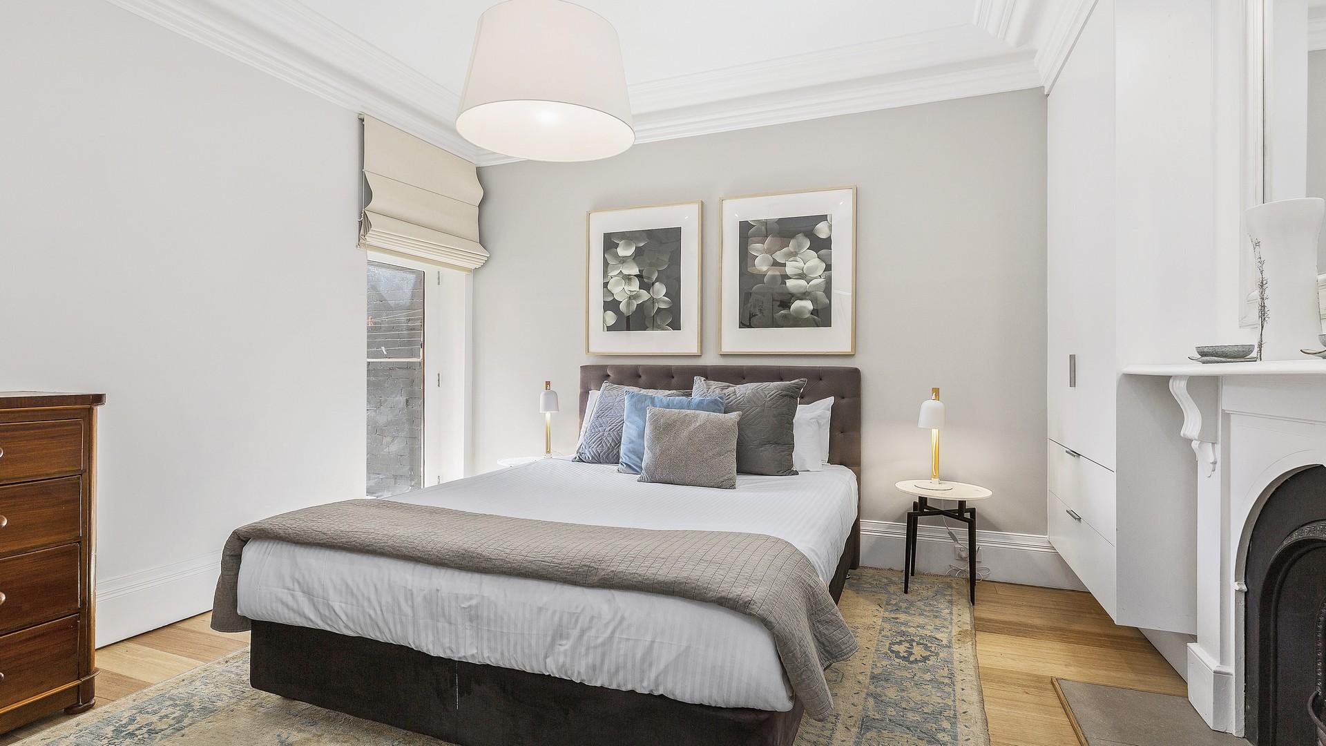Bedroom at Victorian Vogue