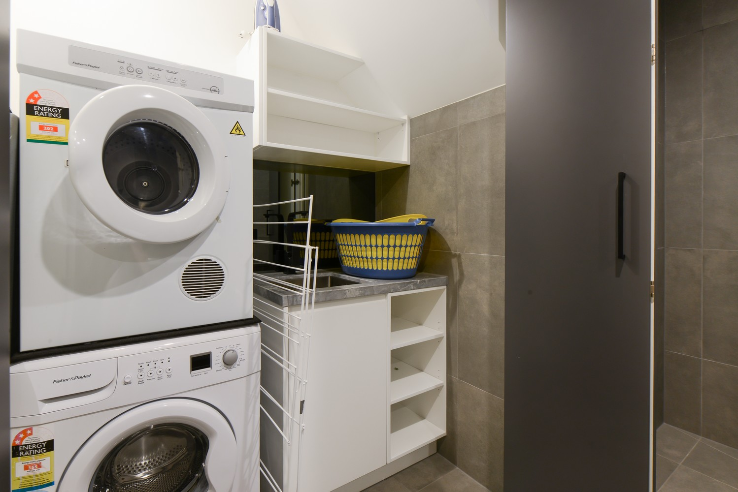 Laundry at Victoria Road Townhouse