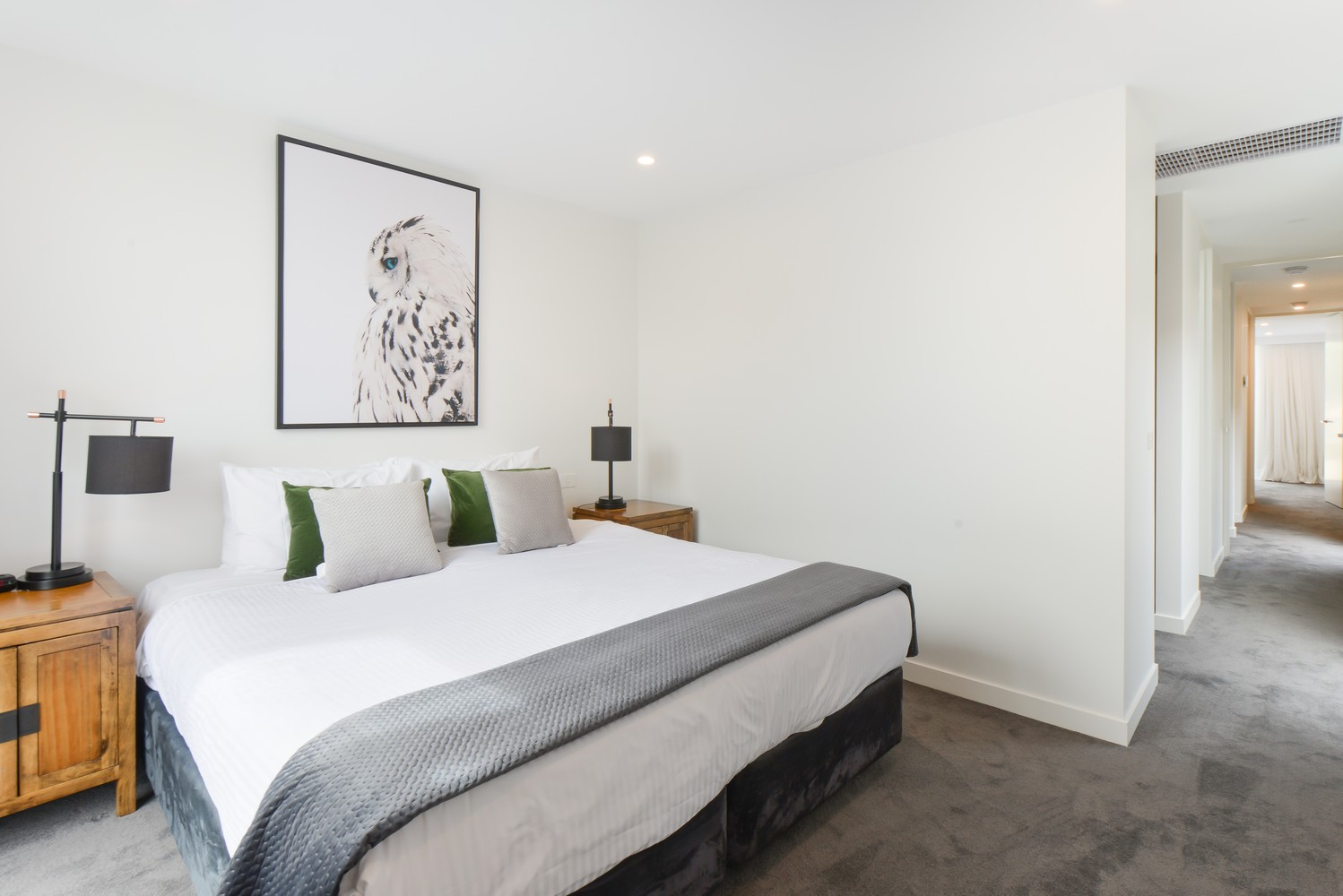Bedroom at Victoria Road Townhouse