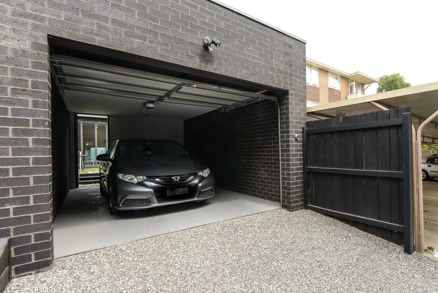 Garage at Victoria Road Townhouse